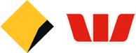 Logo for Commsec & Westpac