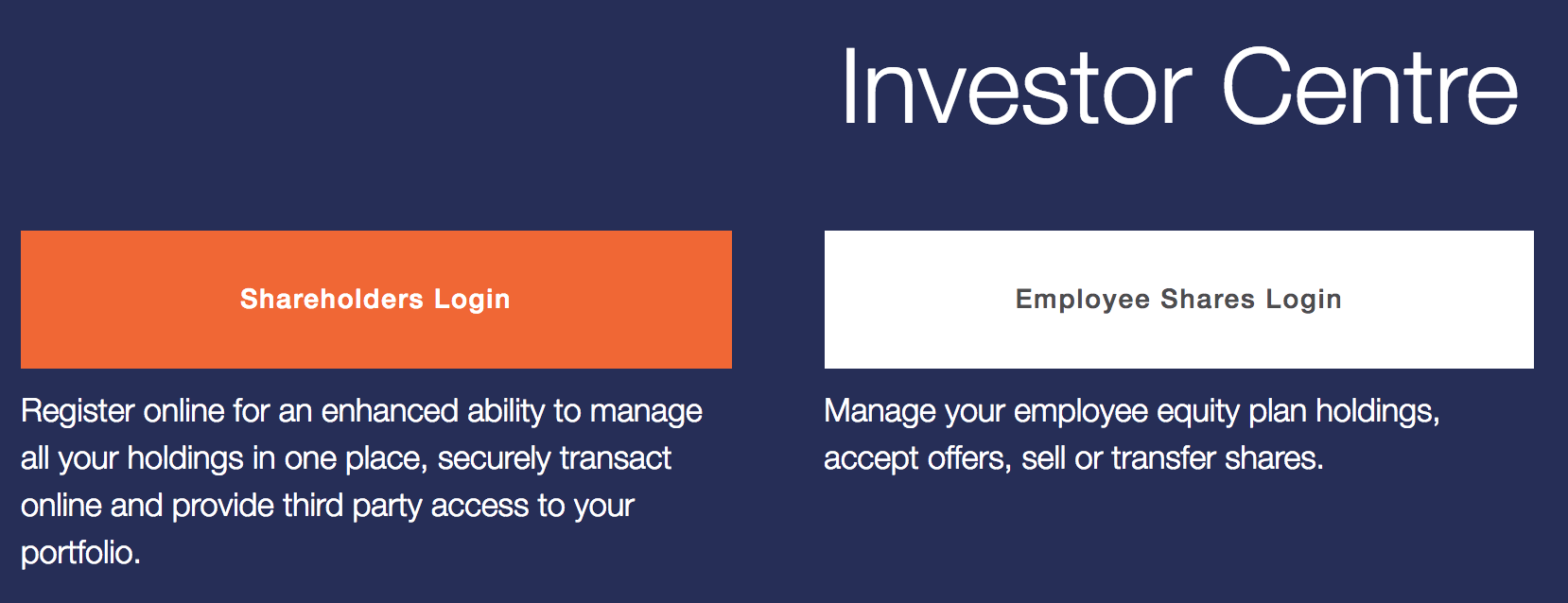 Link Market Services' Homepage